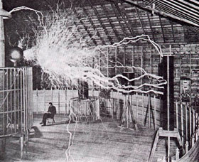 Magnifying Transmitter - Nikola Tesla