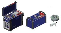 FIGURE 3 – Test equipment for line impedance measurement