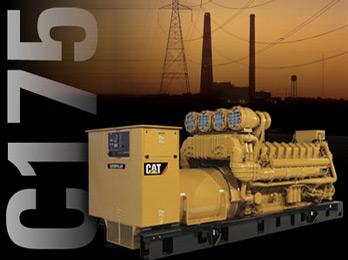 Caterpillar C175 Diesel Generator 2-4MW