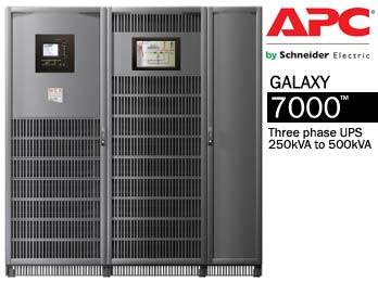 Galaxy 7000™ UPS 250-500kVA by APC | CsanyiGroup