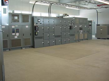 Procedure for the establishment of a new substation