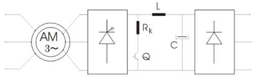 Slika 2. Konfiguracija sa jednosmernim međukolom